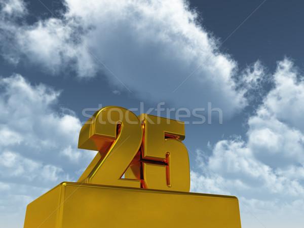 twenty five Stock photo © drizzd