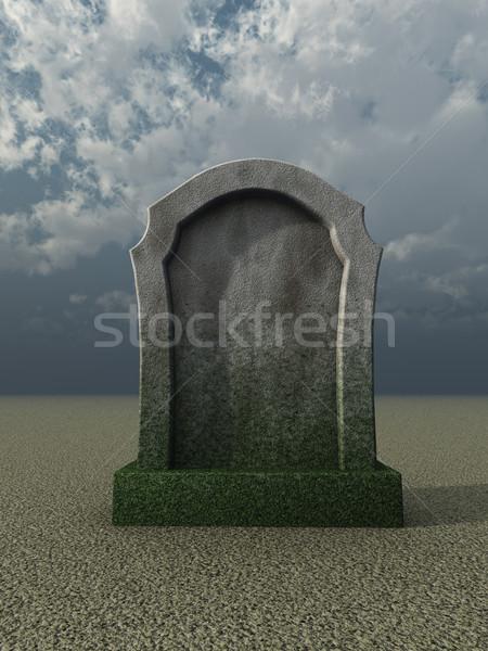 gravestone Stock photo © drizzd