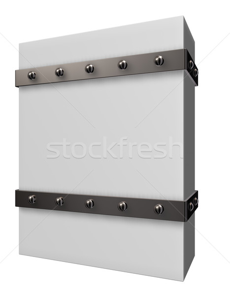 box with iron bands Stock photo © drizzd