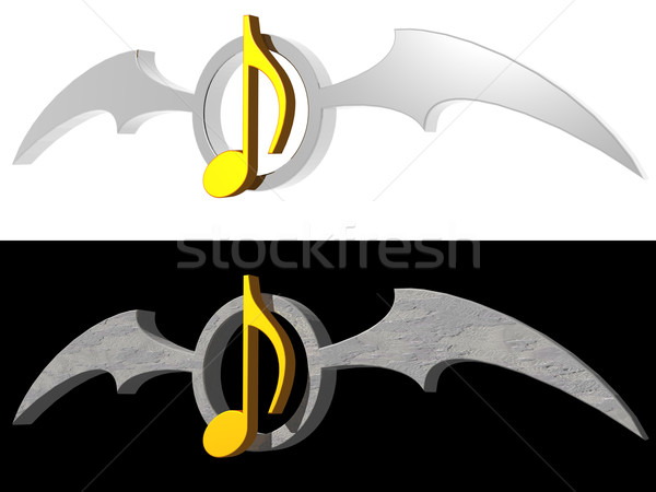 gothic melody Stock photo © drizzd