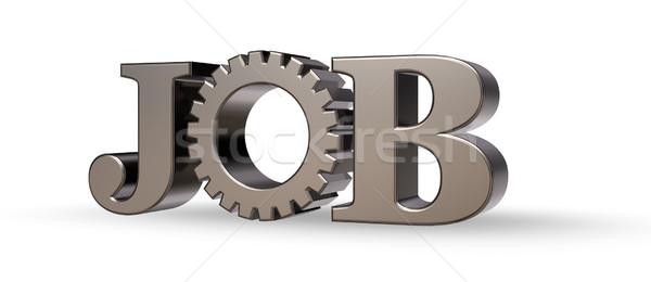 job tag Stock photo © drizzd