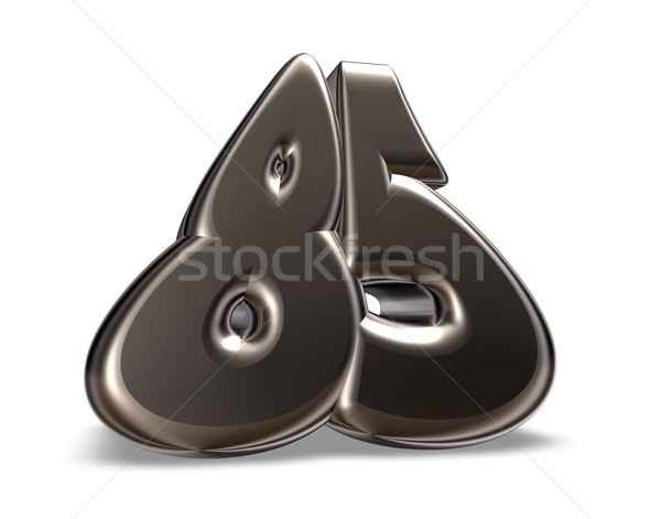 number eighty five Stock photo © drizzd