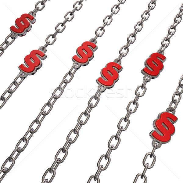 chains paragraph Stock photo © drizzd