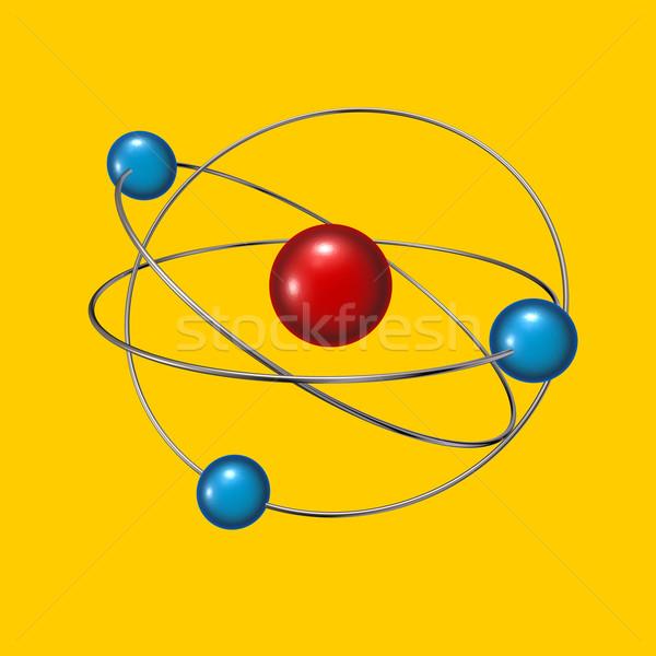 molecule Stock photo © drizzd