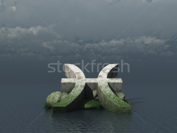 pisces Stock photo © drizzd