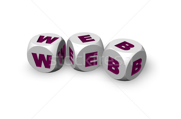 web dices Stock photo © drizzd