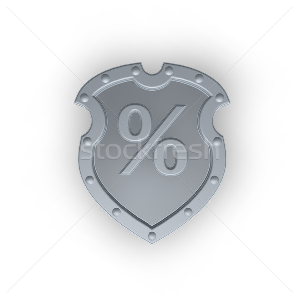 emblem with percent symbol Stock photo © drizzd