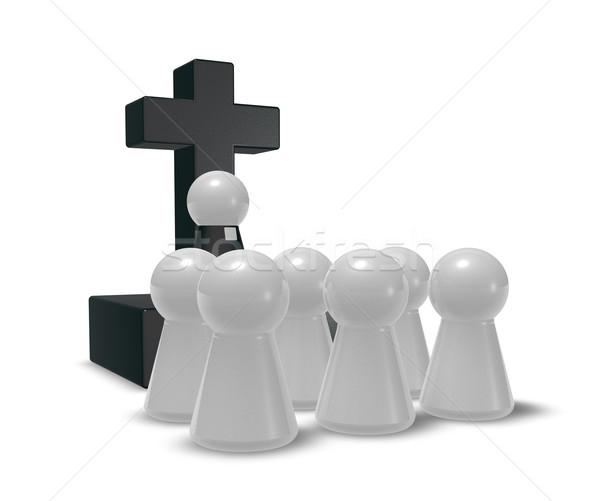 church service Stock photo © drizzd