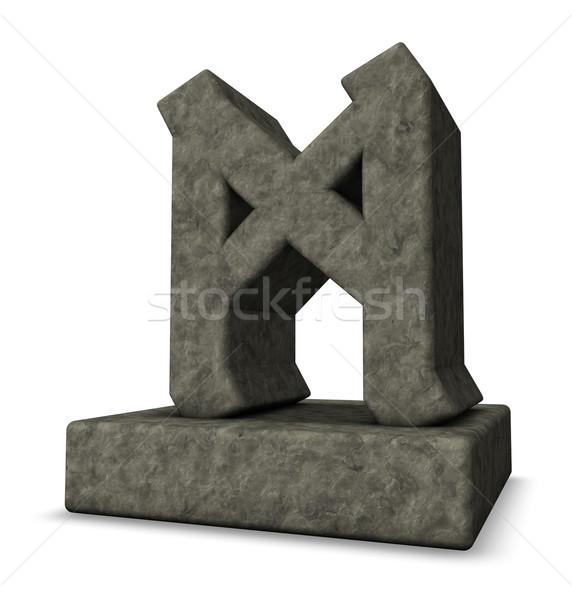 stone rune Stock photo © drizzd