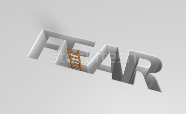 fear Stock photo © drizzd