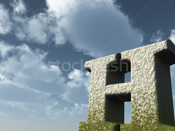 letter h Stock photo © drizzd
