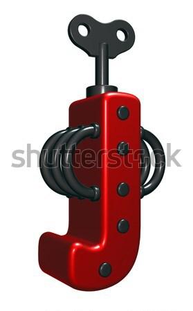 frau zum aufziehen Stock photo © drizzd