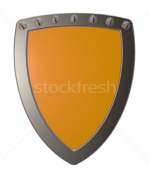 shield with prickles Stock photo © drizzd
