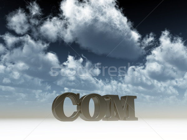 com domain Stock photo © drizzd