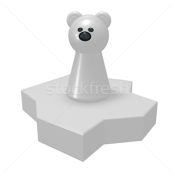 polar bear Stock photo © drizzd
