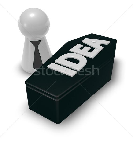 dead idea Stock photo © drizzd