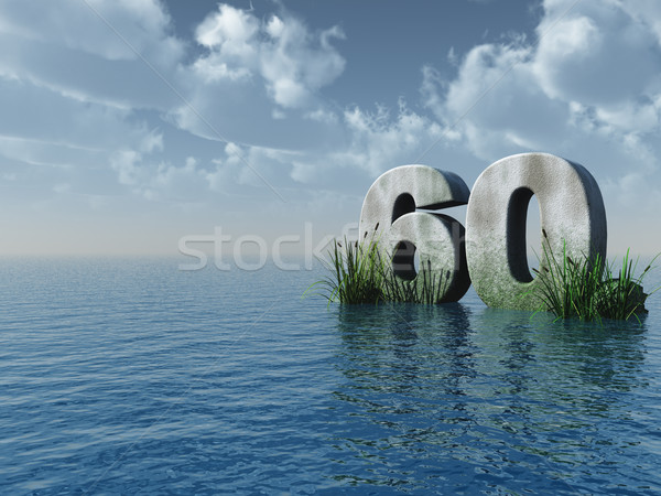 sixty Stock photo © drizzd