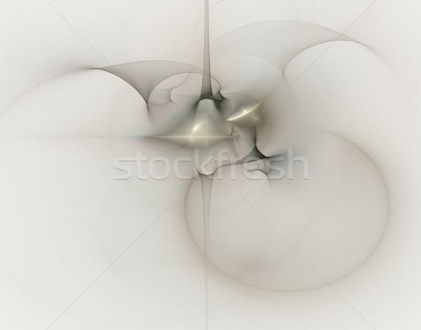 Szellem absztrakt illusztráció fény terv háttér Stock fotó © drizzd