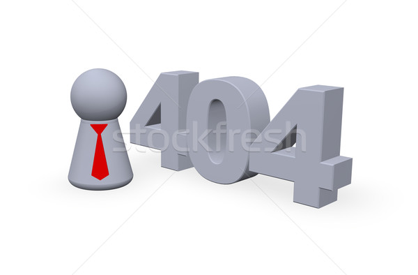 error 404 Stock photo © drizzd