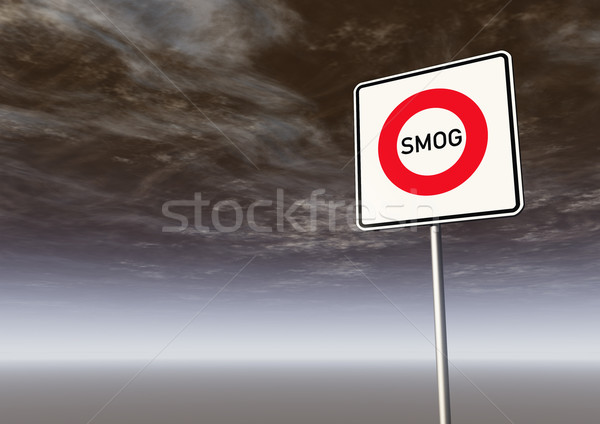 smog Stock photo © drizzd