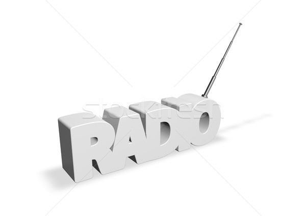 radio Stock photo © drizzd