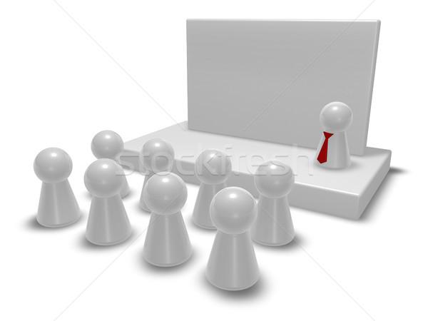 presentation Stock photo © drizzd