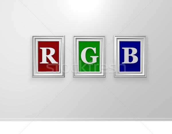 rgb Stock photo © drizzd