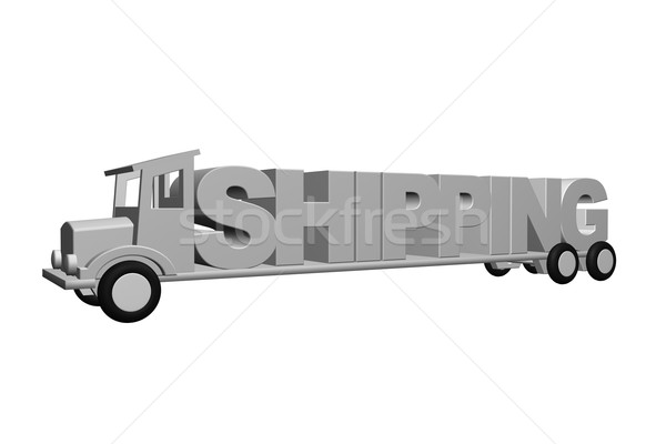 shipping Stock photo © drizzd