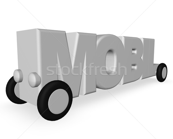 mobil Stock photo © drizzd