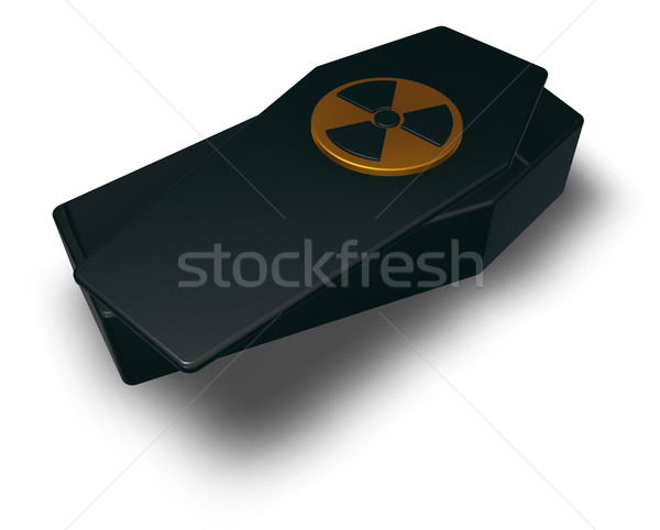 nuclear coffin Stock photo © drizzd