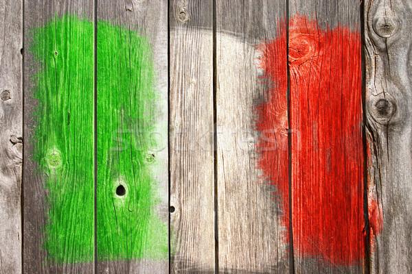 Włoski kolory starych rana Zdjęcia stock © drizzd