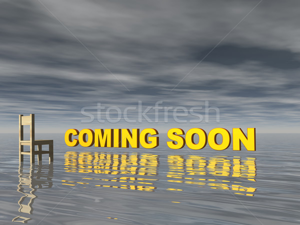 coming soon Stock photo © drizzd