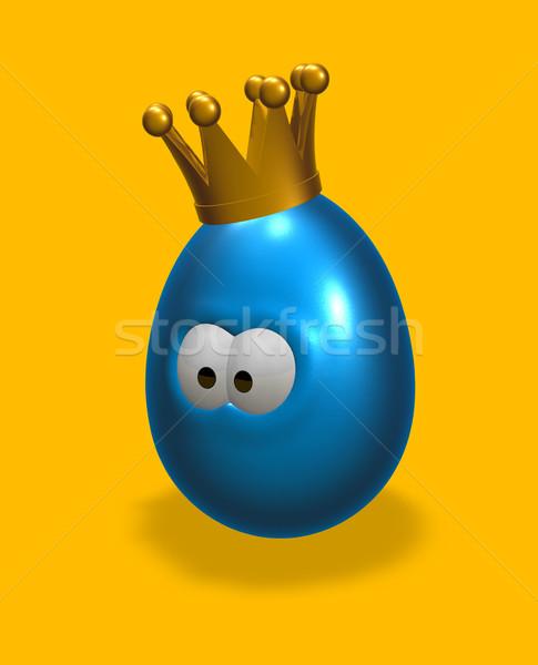 Stock photo: king egg