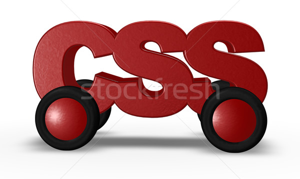 css on wheels Stock photo © drizzd