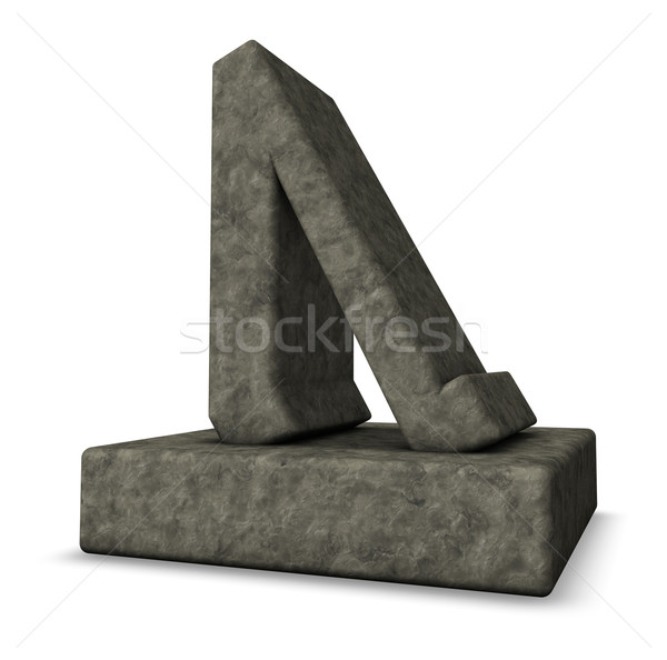 stone rune Stock photo © drizzd