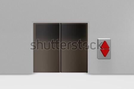 лифта играть Рисунок галстук 3d иллюстрации служба Сток-фото © drizzd