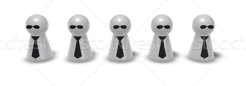 agents Stock photo © drizzd
