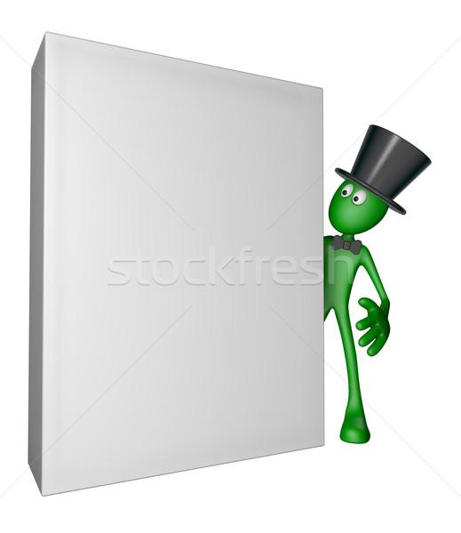 blank box Stock photo © drizzd