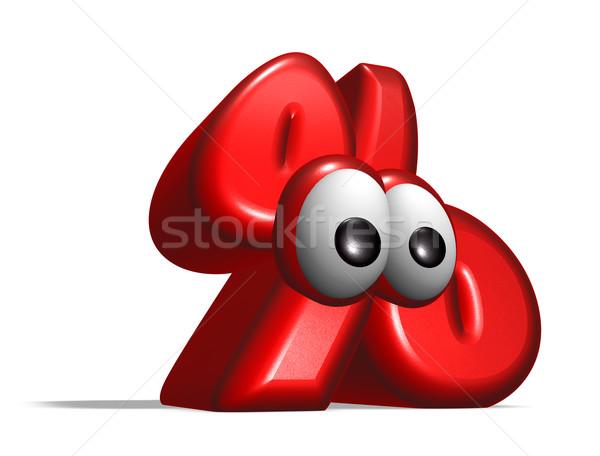 percent symbol Stock photo © drizzd