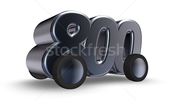 eight hundred Stock photo © drizzd
