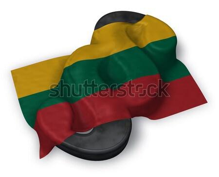 Bekezdés szimbólum zászló 3D renderelt kép Európa Stock fotó © drizzd
