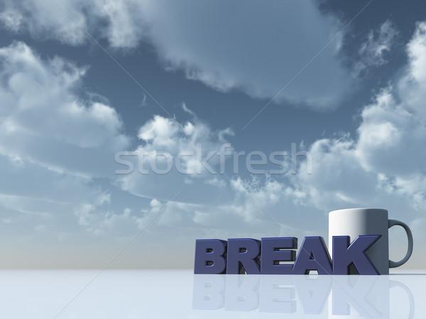 break Stock photo © drizzd