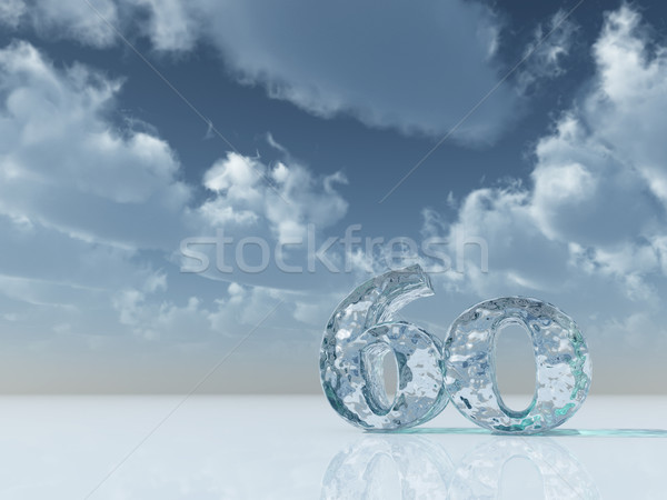 frozen sixty Stock photo © drizzd