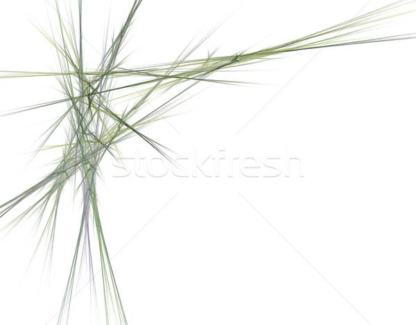 Lijnen wanorde abstract witte ontwerp achtergrond Stockfoto © drizzd