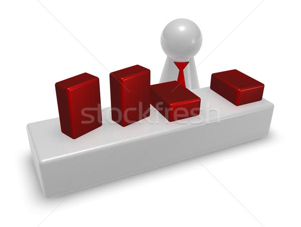 販売者 再生 図 ストア 3次元の図 作業 ストックフォト © drizzd