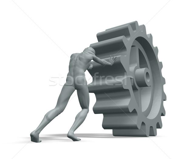 gear wheel Stock photo © drizzd