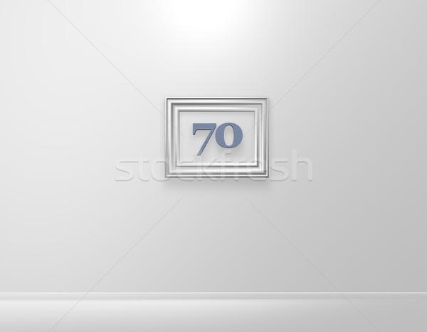 seventy Stock photo © drizzd