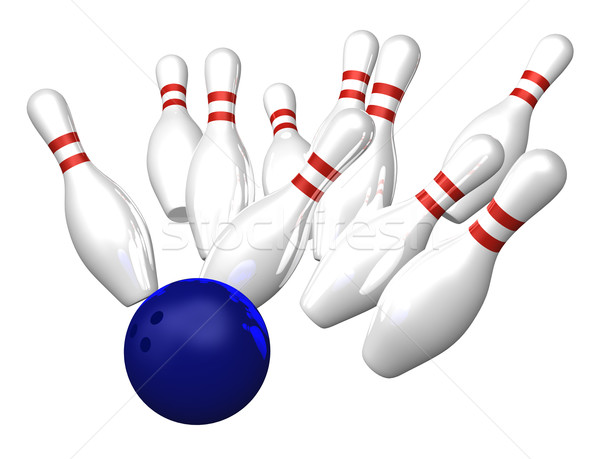 bowling Stock photo © drizzd