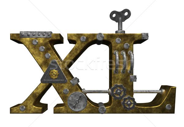 metal xl Stock photo © drizzd