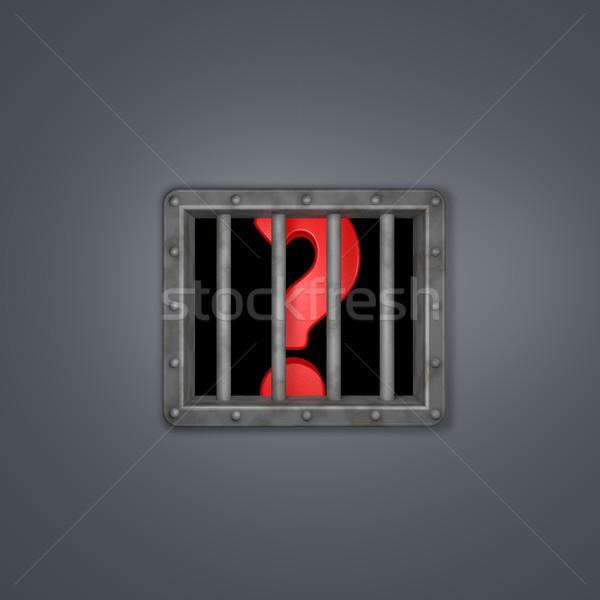 prison question Stock photo © drizzd